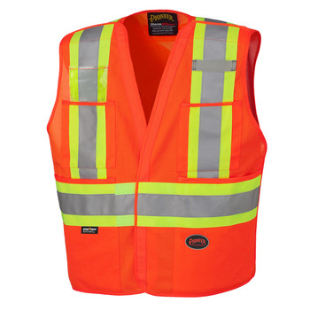 Orange 6930 Hi-Viz Safety Tear-Away Vest
