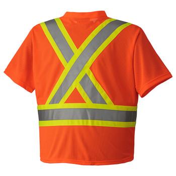 Safety Orange - 6979 Hi-Viz Traffic Micro Mesh T-Shirt