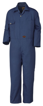 Navy 515T Poly/Cotton Coverall