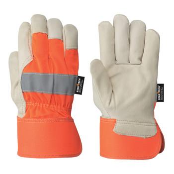 Orange Fitter's Cowgrain Glove