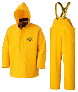 Yellow 571 Flame Resistant PVC Rain Suit