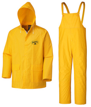 Yellow 578 Flame Resistant PVC Rain Suit