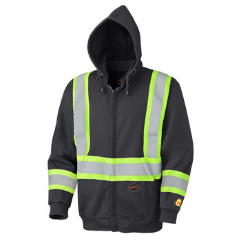 337SF Flame Resistant Zip Style Heavyweight Safety Hoodie | Safetywear.ca