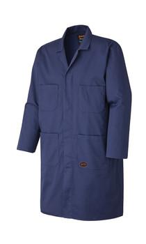 Navy 512 Poly/Cotton Shop Coat
