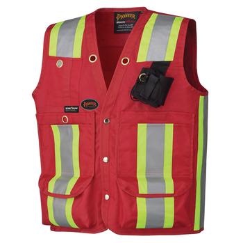 Red - 695 Surveyor's / Supervisor's Vest