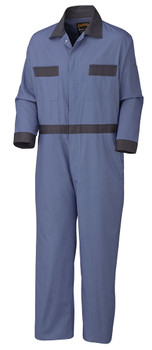 5133 Cotton Coverall With Buttons