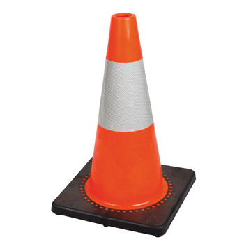 "181 18"" Premium Pvc Flexible Safety Cone"