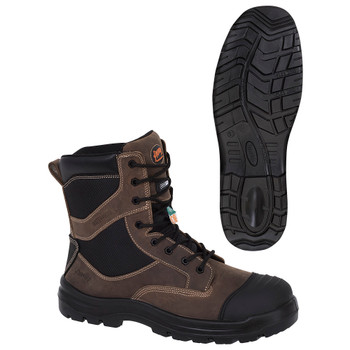 1051 Composite Toe/Plate Leather Safety Work Boot
