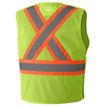 6933 Hi-Viz Safety Tear-Away Vest