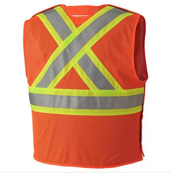 Safety Orange - 6914A Flame Resistant Hi-Viz Vest