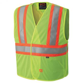 Safety Yellow - 6916A Flame Resistant Hi-Viz Tear-away Vest