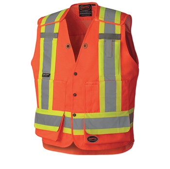 6694 Hi-Viz Surveyor's Safety Vest