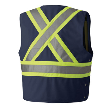 134N HI-VIZ SAFETY VEST BACK