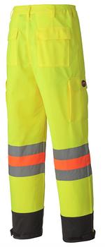 6009 Hi-Viz Traffic Control Safety Pant Back