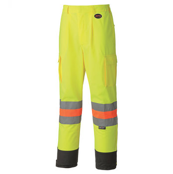 Safety Yellow - 6009 Hi-Viz Breathable Traffic Control Safety Pant