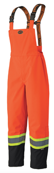 5404 300D Hi-Viz Trilobal Ripstop Waterproof Safety Bib Pant