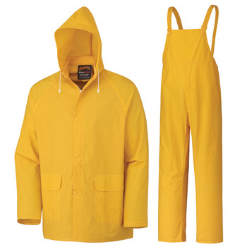 577B Supported PVC 3-Piece Rain Suit