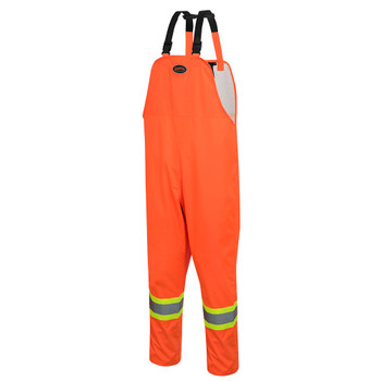 5627 300D Oxford Polyester Bib Pant With PU Coating