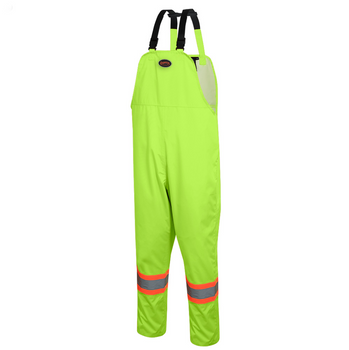 5629 300D Oxford Polyester Bib Pant With PU Coating