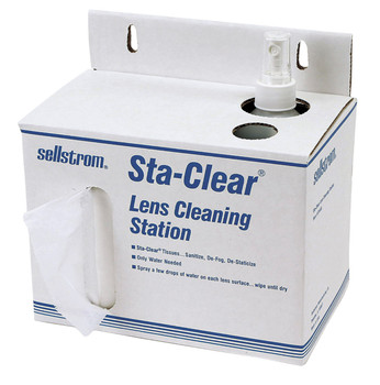 S23469 Cardboard Station (1,000 Tissues And Spray Bottle)