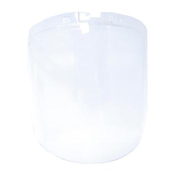 "S32100 9"" X 12.125"" X 0.060"" Clear Anti-Fog Window For DP4 Face Shield"