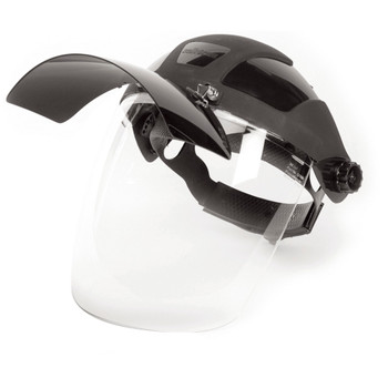 S32181 Multi-Purpose Face Shield With Flip-Up IR Window And Ratcheting Headgear