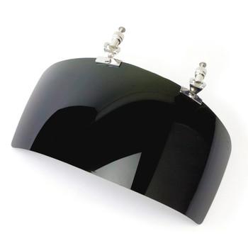 "S32188 4.375"" X 9.25"" X 0.070"" Shade 8 IR Visor For DP4 Face Shield"