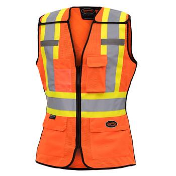 486 Women's Hi-Viz Safety Tear-Away Vest