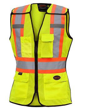 489 Women's Hi-Viz Safety Tear Away Vest