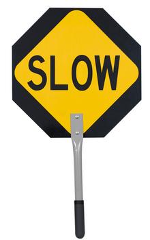 "455 Traffic Stop/Slow Paddle 16"""