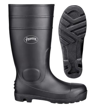 1011 PVC Plain Toe Boot