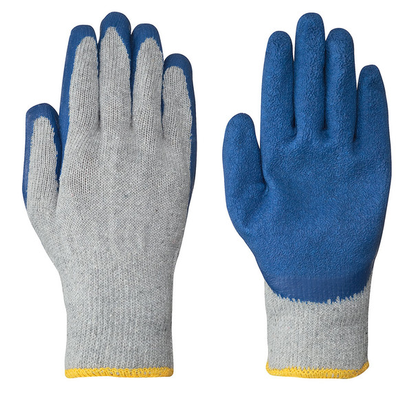 Blue 5330 Seamless Knit Latex Glove