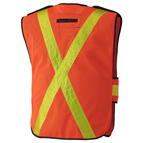 145 Hi-Viz All-Purpose Vest, Back