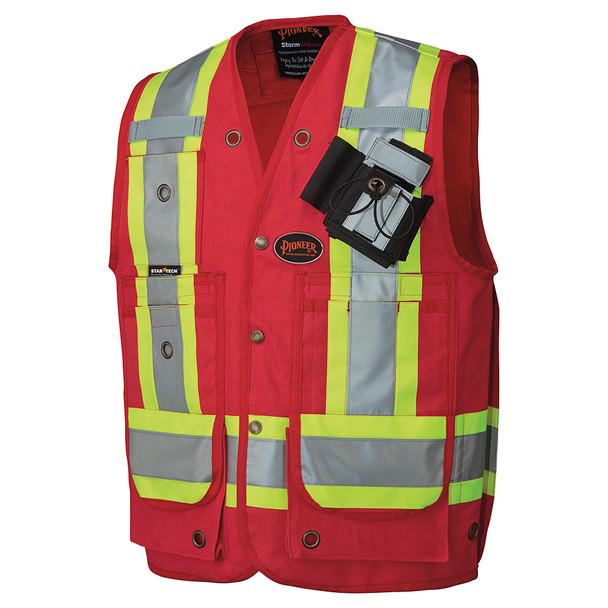 Red - 694 CSA Surveyor's / Supervisor's Vest