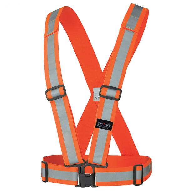 ORANGE 5591 Hi-Viz Safety Sash | Safetywear.ca