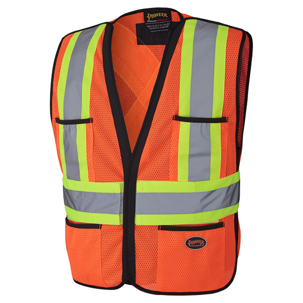 Orange 6926 Hi-Viz Traffic Vest | Safetywear.ca