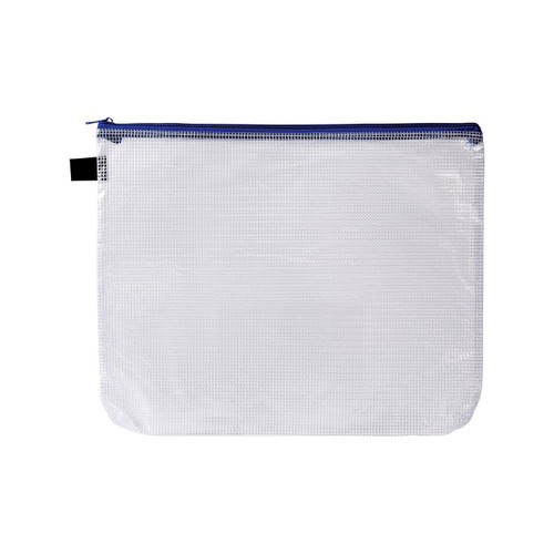 Avery 49501 A4 Blue Handy Pouch Zip Closure