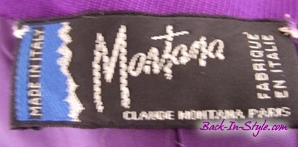 Claude Montana Signature Purple Jacket
