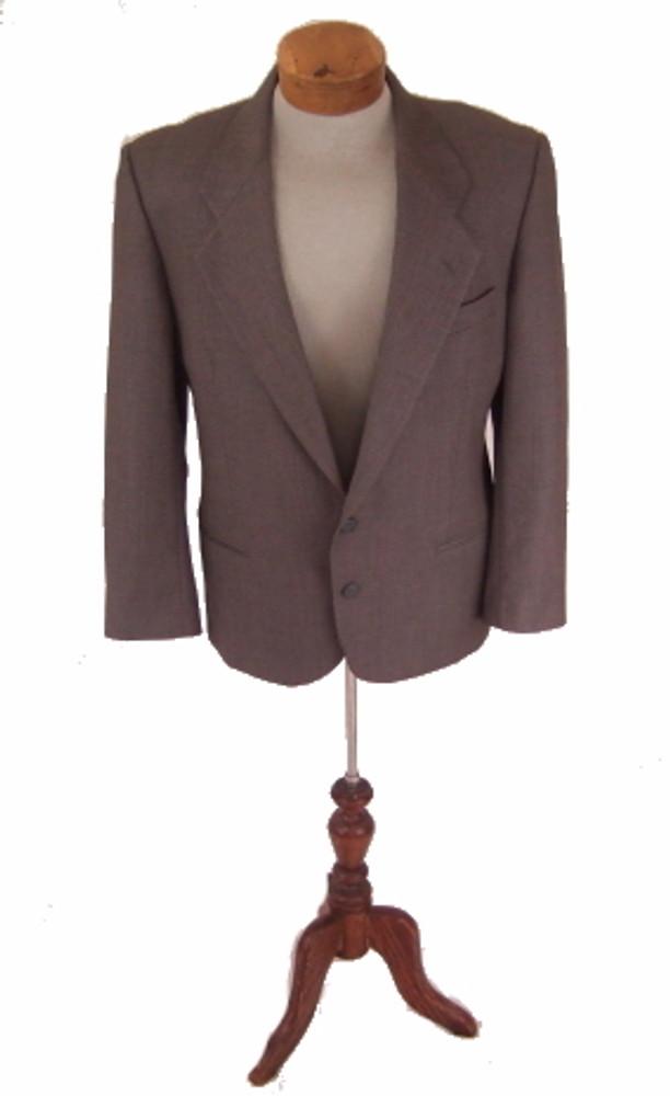 Mani Gray Textured Blazer