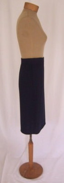 St. John Navy Blue Knit Skirt