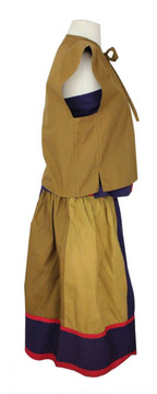 Giorgio Sant Angelo Three Piece Outfit With Skirt, Tank And Jacket  1