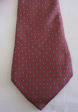 Christian Dior pink dot tie