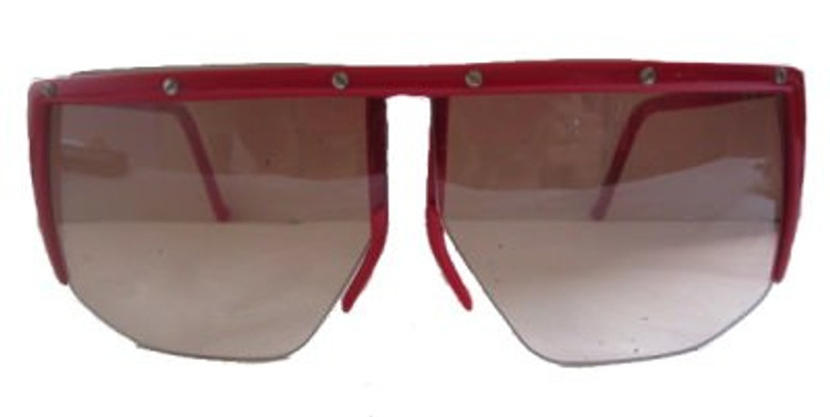 Vintage Claudio LaViola, Red Framed Sunglasses