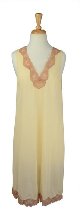 Vintage Emilio Pucci Cream Slip Dress