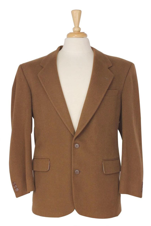 Brown Cashmere Blazer