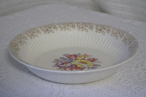 Round Vegetable Serving Serving Bowl - E0057