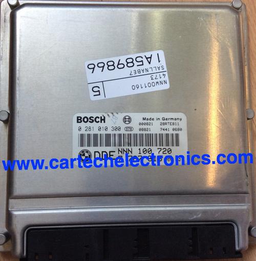 Plug & Play Engine ECU, Rover 75 TDI, 0281010300, 0 281 010 300, DDE7788053, DDE 7 788 053, NNN100720, NNN 100 720