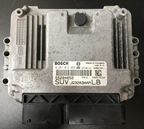 Suzuki SX4 1.9D, Fiat Sedici 1.9JTD, 0281012992, 0 281 012 992, 55204652