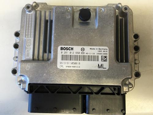 Honda Civic 2.2D, 0281012660, 0 281 012 660, 37820-RSR-E13
