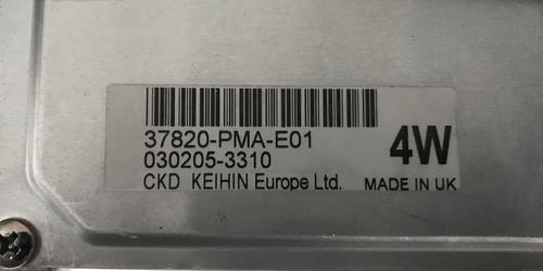 Honda Civic 1.4, 37820-PMA-E01, 4W, 030205-3310